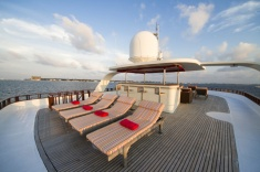 Theia - Deck - DUNE - Maldives diving cruise
